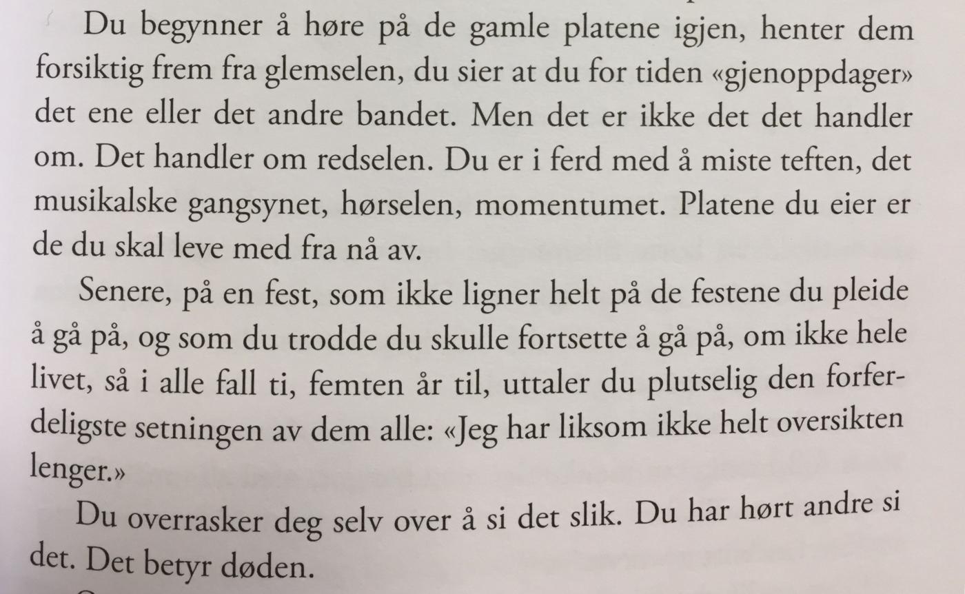 Døden, beskrevet av Johan Harstad